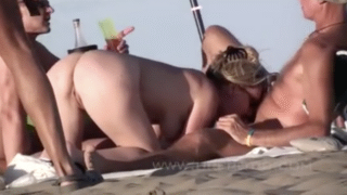 People Caught Having Sex On Nude Beach